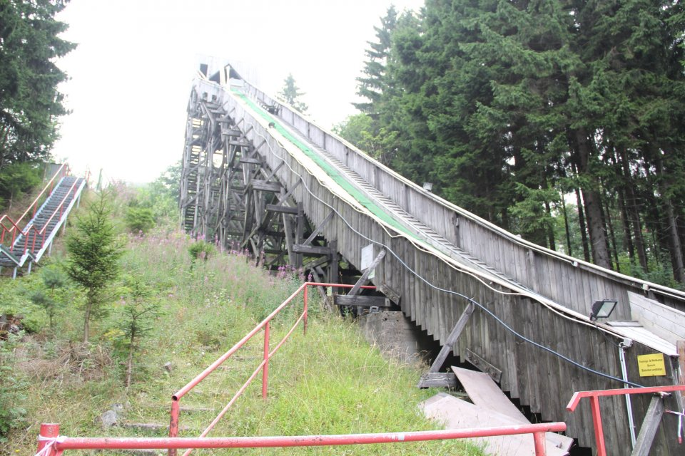Wadebergschanze in Oberhof